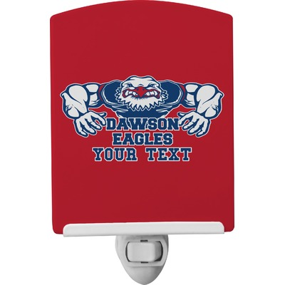Strong Dawson Eagle Ceramic Night Light (Personalized)