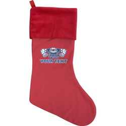 Strong Dawson Eagle Christmas Stocking (Personalized)