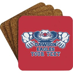 Strong Dawson Eagle Coaster Set (Personalized)