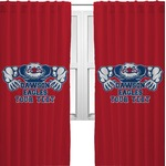 Strong Dawson Eagle Curtains (2 Panels Per Set) (Personalized)