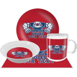Strong Dawson Eagle Dinner Set - 4 Pc (Personalized)