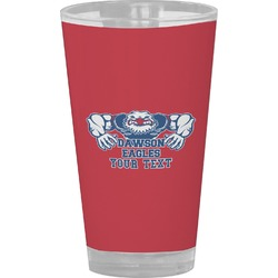 Strong Dawson Eagle Drinking / Pint Glass (Personalized)