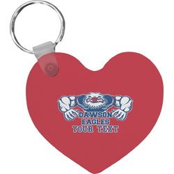 Strong Dawson Eagle Heart Keychain (Personalized)