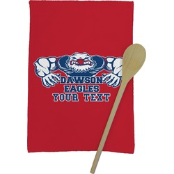 Strong Dawson Eagle Kitchen Towel - Full Print (Personalized)
