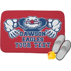 Strong Dawson Eagle Memory Foam Bath Mat (Personalized)