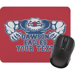 Strong Dawson Eagle Mouse Pad (Personalized)