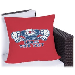 Strong Dawson Eagle Outdoor Pillow (Personalized)