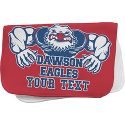 Strong Dawson Eagle Burp Cloth (Personalized)