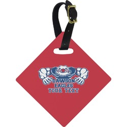 Strong Dawson Eagle Diamond Luggage Tag (Personalized)