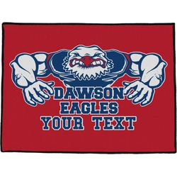 Strong Dawson Eagle Door Mat (Personalized)
