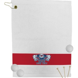 Strong Dawson Eagle Golf Towel (Personalized)