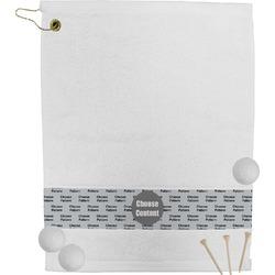Strong Dawson Eagle Golf Towel (Personalized)