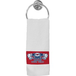 Strong Dawson Eagle Hand Towel (Personalized)