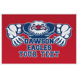 Strong Dawson Eagle Placemat (Laminated) (Personalized)