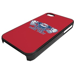 Strong Dawson Eagle Plastic 4/4S iPhone Case (Personalized)