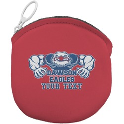 Strong Dawson Eagle Round Coin Purse (Personalized)