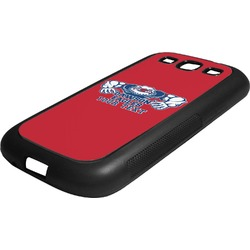 Strong Dawson Eagle Rubber Samsung Galaxy 3 Phone Case (Personalized)