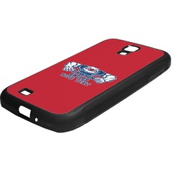 Strong Dawson Eagle Rubber Samsung Galaxy 4 Phone Case (Personalized)