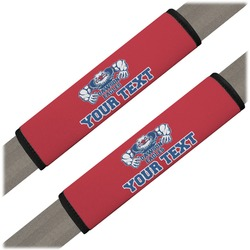 Strong Dawson Eagle Seat Belt Covers (Set of 2) (Personalized)