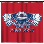 Strong Dawson Eagle Shower Curtain (Personalized)