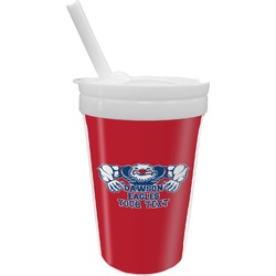 Strong Dawson Eagle Sippy Cup with Straw (Personalized)