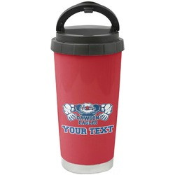 Strong Dawson Eagle Stainless Steel Travel Mug (Personalized)