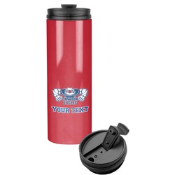Strong Dawson Eagle Stainless Steel Tumbler (Personalized)