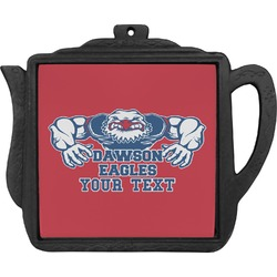 Strong Dawson Eagle Teapot Trivet (Personalized)
