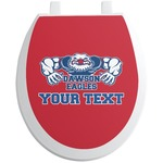 Strong Dawson Eagle Toilet Seat Decal (Personalized)