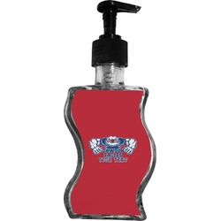 Strong Dawson Eagle Wave Bottle Soap / Lotion Dispenser (Personalized)