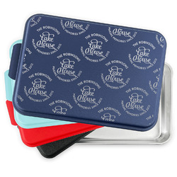 Lake House #2 Aluminum Baking Pan with Lid (Personalized)