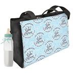 Lake House #2 Diaper Bag w/ Name All Over