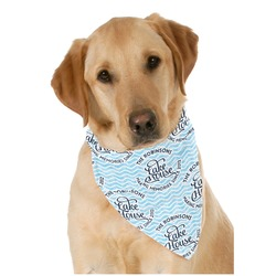 Lake House #2 Pet Bandanas (Personalized)
