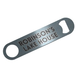 Lake House #2 Bar Bottle Opener (Personalized)