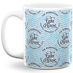 Lake House #2 11 Oz Coffee Mug - White (Personalized)