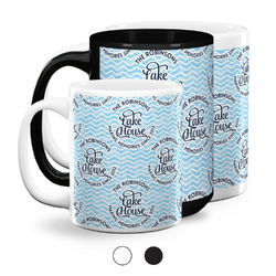 Lake House #2 Coffee Mugs (Personalized)