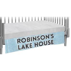 Lake House #2 Crib Skirt (Personalized)