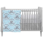 Lake House #2 Crib Comforter / Quilt (Personalized)