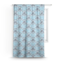 Lake House #2 Curtain (Personalized)