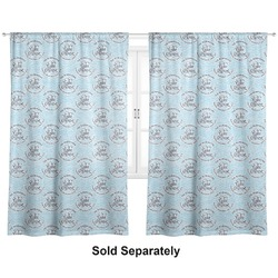 "Lake House #2 Curtains - 20""x63"" Panels - Lined (2 Panels Per Set) (Personalized)"