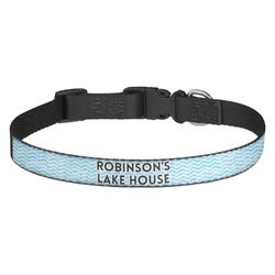 Lake House #2 Dog Collar - Multiple Sizes (Personalized)