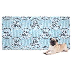 Lake House #2 Pet Towel (Personalized)