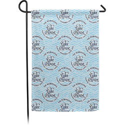 Lake House #2 Garden Flag - Single or Double Sided (Personalized)