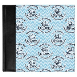 Lake House #2 Genuine Leather Baby Memory Book (Personalized)