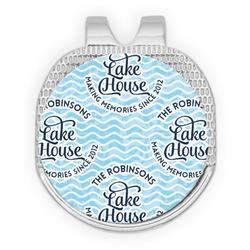 Lake House #2 Golf Ball Marker - Hat Clip