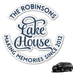 Lake House #2 Graphic Car Decal (Personalized)