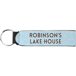 Lake House #2 Neoprene Keychain Fob (Personalized)