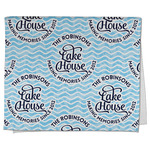 Lake House #2 Kitchen Towel - Full Print (Personalized)