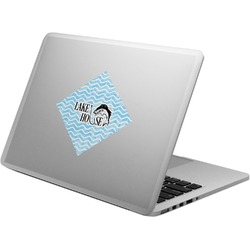 Lake House #2 Laptop Decal (Personalized)