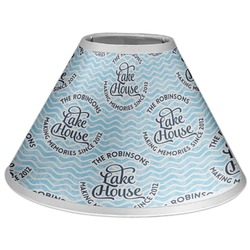 Lake House #2 Coolie Lamp Shade (Personalized)